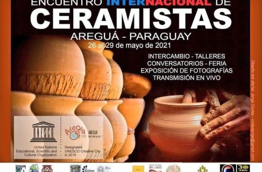 Encuentro Internacional de Ceramistas, en Areguá