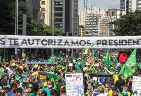 Brasilien: Millionen gingen auf die Straße, um gegen die Covid-Maßnahmen zu demonstrieren (Videos)