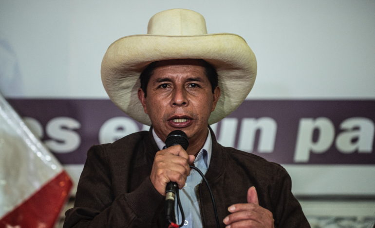 Finaliza el conteo de votos en Perú y Pedro Castillo es el nuevo presidente