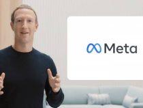 La empresa propietaria de Facebook e Instagram pasará a llamarse Meta